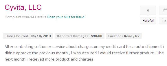 cyvita-complaint