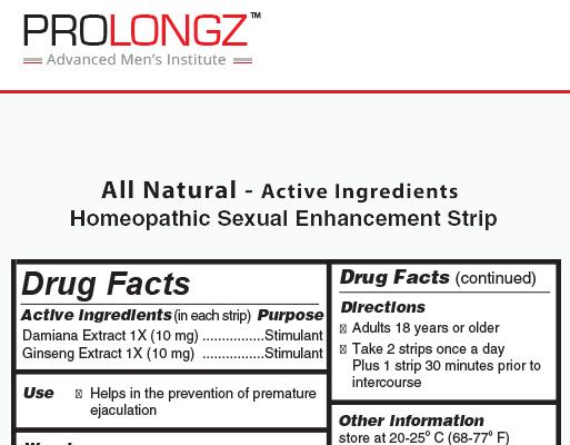 prolongz-label